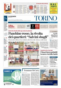 panchine rosse_cronaca_prima_stampa